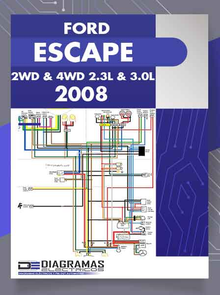 diagrama el u00e9ctrico ford escape 2008 wiring diagram 3 Subwoofer Wiring Diagram