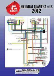Diagrama eléctrico HYUNDAI ELANTRA GLS 2012 Wiring Diagram