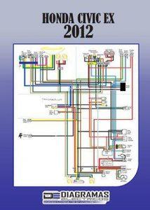 Diagrama eléctrico HONDA CIVIC EX 2012 Wiring Diagram