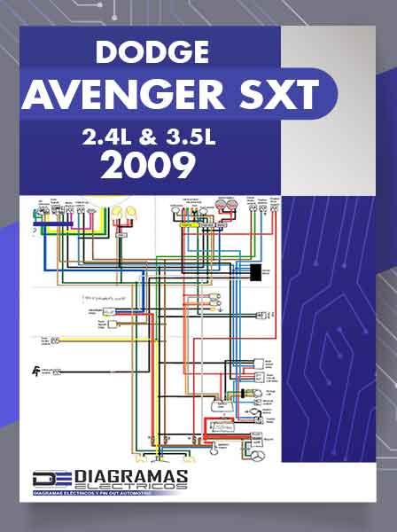 Diagrama El U00e9ctrico Dodge Avenger Sxt 2009 2 4l  U0026 3 5l