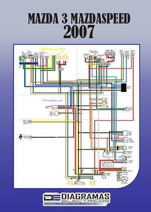 Diagrama eléctrico MAZDA 3 MAZDASPEED 2007 Wiring Diagram