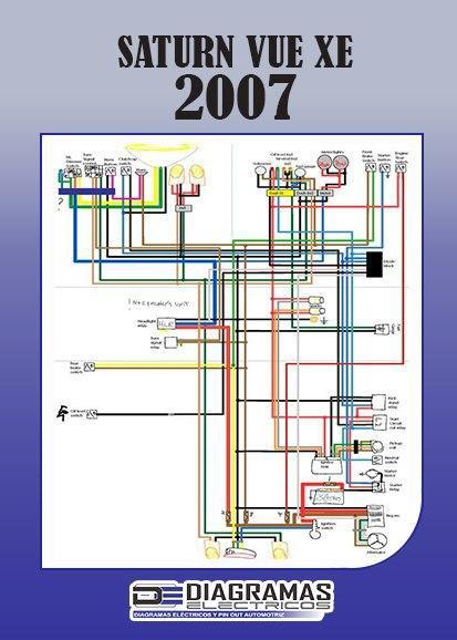 Diagrama eléctrico SATURN VUE XE 2007 Wiring Diagram