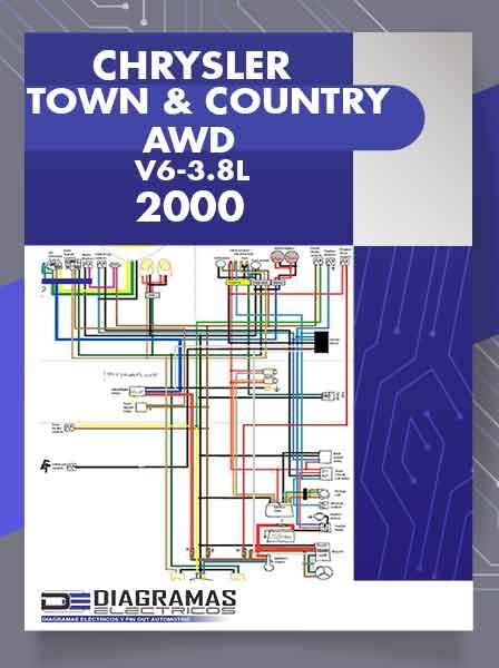 Diagramas Eléctricos CHRYSLER TOWN COUNTRY AWD 3.8L 2000