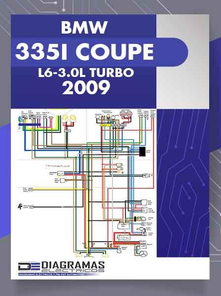 Diagramas Eléctricos BMW 335i COUPE L6-3.0L TURBO 2009