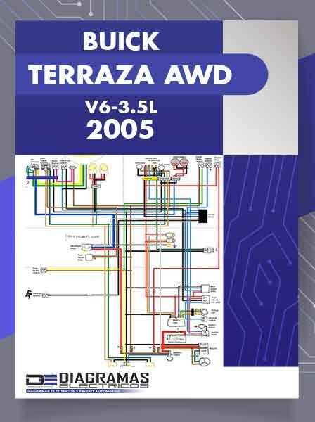 DIAGRAMA ELECTRICO BUICK TERRAZA AWD V6-3.5L 2005