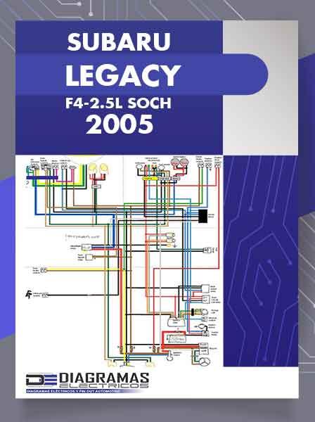 Diagramas Eléctricos SUBARU LEGACY F4-2.5L SOHC 2005