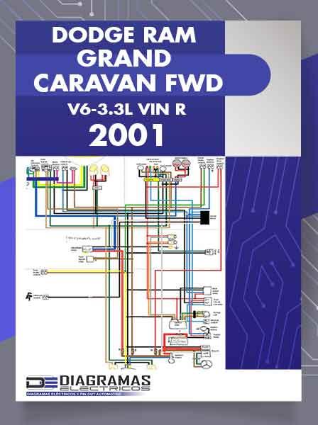 Diagramas Eléctricos DODGE RAM GRAN CARAVAN FWD V6-3.3L VIN R 2001