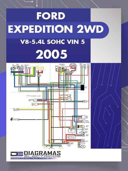 Diagramas Eléctricos FORD EXPEDITION 2WD V8-5.4L SOHC VIN 5 2005