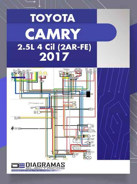 Diagramas Eléctricos TOYOTA CAMRY 2.5L 4 Cil (2AR-FE) 2017