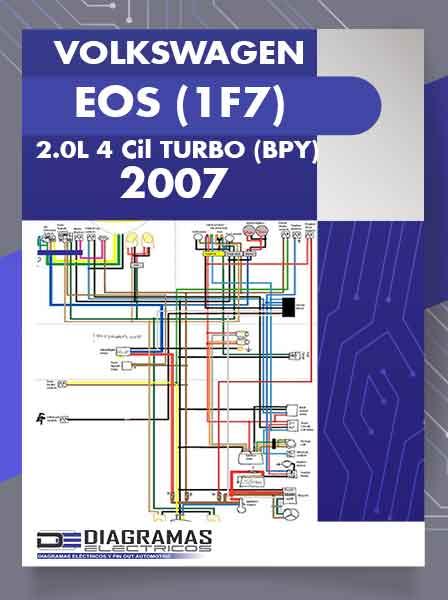 Diagramas Eléctricos VOLKSWAGEN EOS (1F7) 2.0L 4 Cil TURBO (BPY) 2007