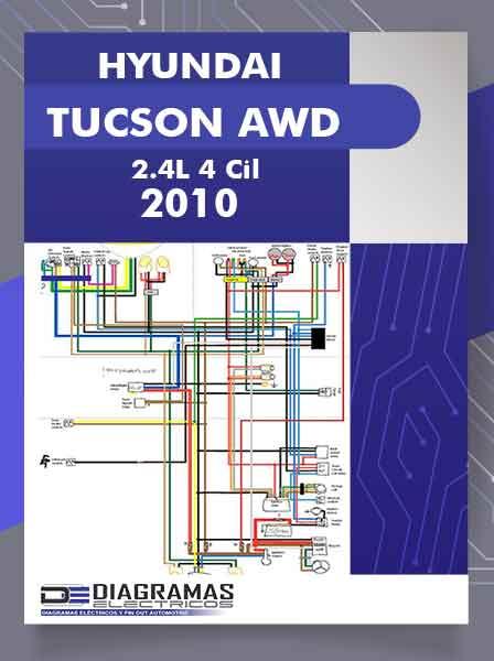 Diagramas Eléctricos HYUNDAI TUCSON AWD 2.4L 4 Cil 2010