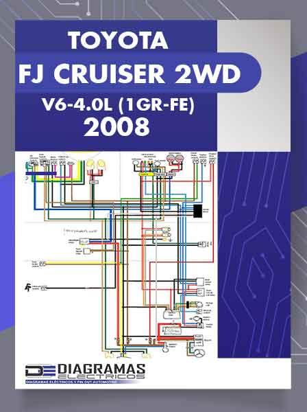 Diagramas Eléctricos TOYOTA FJ CRUISER 2WD V6-4.0L (1GR-FE) 2008