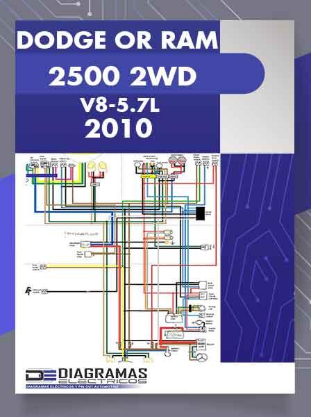Diagramas Eléctricos DODGE OR RAM 2500 2WD V8-5.7L 2010