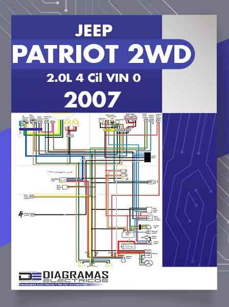 Diagramas Eléctricos JEEP PATRIOT 2WD 2.0L 4Cil VIN 0 2007