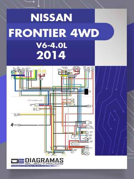 Diagramas Eléctricos NISSAN FRONTIER 4WD V6-4.0L 2014