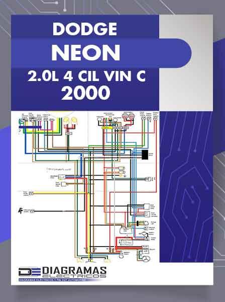 Diagramas Eléctricos DODGE NEON 2.0L 4 CIL VIN C 2000