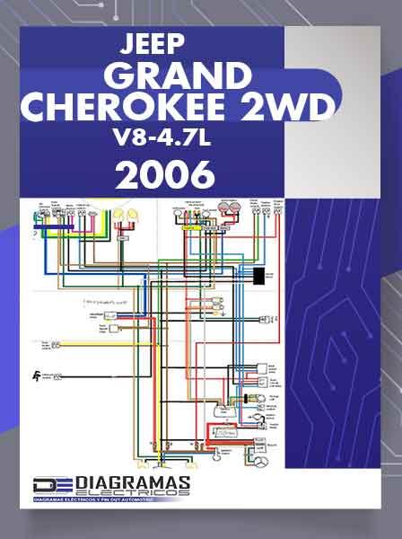 Diagramas Eléctricos JEEP GRAND CHEROKEE 2WD V8-4.7L VIN N 2006