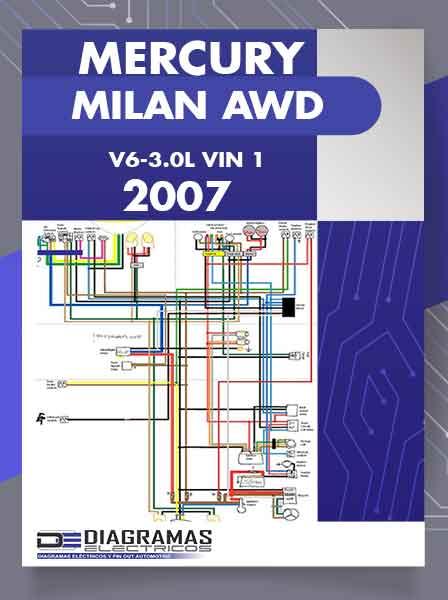 Diagramas Eléctricos MERCURY MILAN FWD 2.3L 4 Cil VIN Z 2007